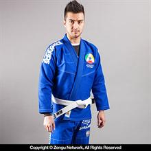 """Athlete"" Blue Jiu Jitsu Gi"